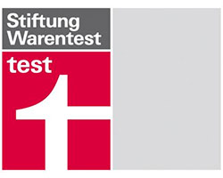 stiftung warentest testlogo. Black Bedroom Furniture Sets. Home Design Ideas