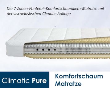 Diamona Climatic Pure Kaltschaum/Visco-Matratzen Artikelbild 3