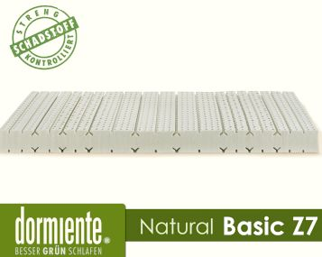 Dormiente Natural Basic Z7 Latex-Matratzen Artikelbild 3