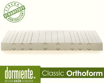 Dormiente Natural Classic Orthoform Latex-Matratzen Artikelbild 3
