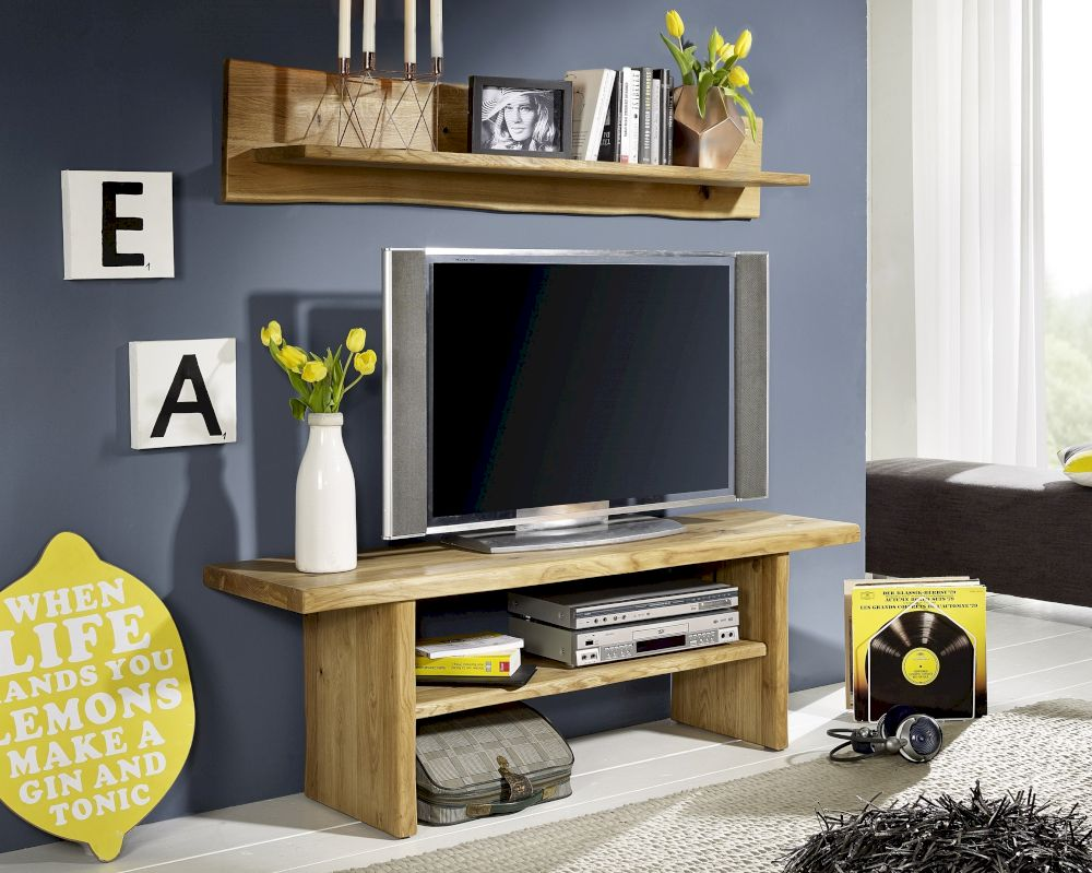 3s frankenm bel massivholz wildeiche tv bank zingst. Black Bedroom Furniture Sets. Home Design Ideas
