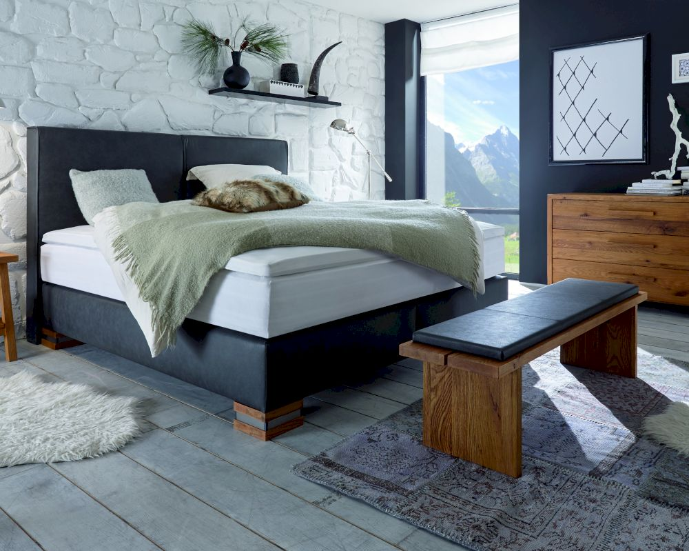 hasena boxspringbett classic otinopalermo xl. Black Bedroom Furniture Sets. Home Design Ideas