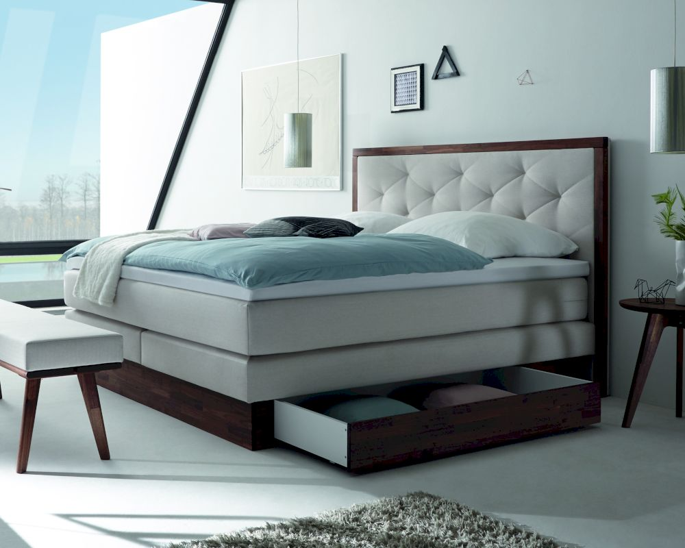 hasena boxspringbett solution bettkastensilvano. Black Bedroom Furniture Sets. Home Design Ideas