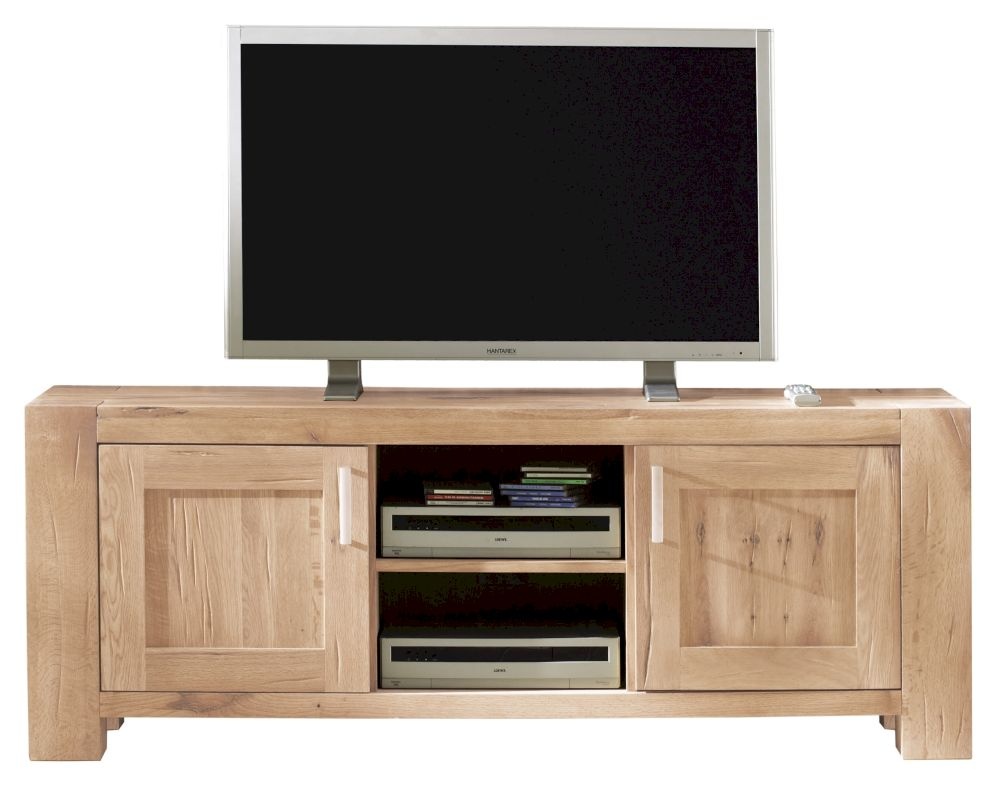 massivholz fausto tv board gro bestellen. Black Bedroom Furniture Sets. Home Design Ideas