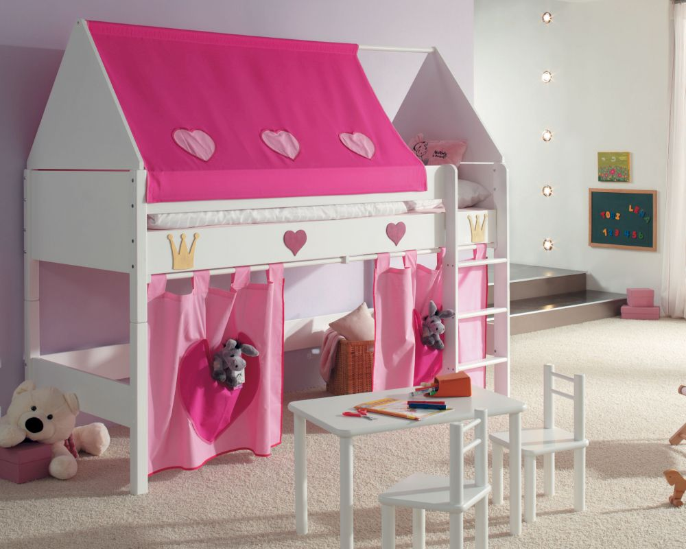 taube kinderzimmer prinzessin hochbett bei. Black Bedroom Furniture Sets. Home Design Ideas