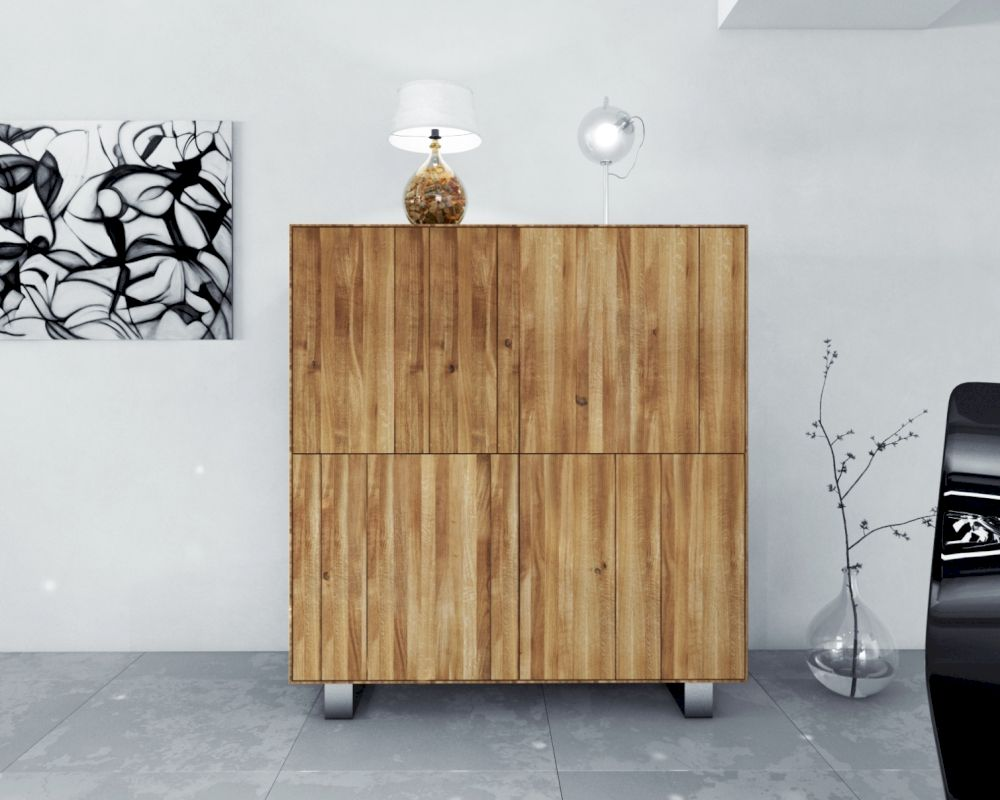 The Beds Steel Highboard 4 Türen Kaufen Slewocom