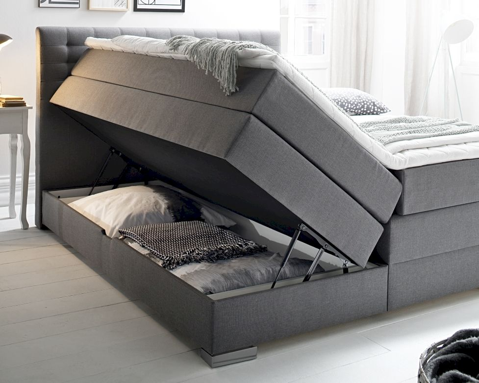 meise m bel boxspringbett lenno inkl bettkasten. Black Bedroom Furniture Sets. Home Design Ideas