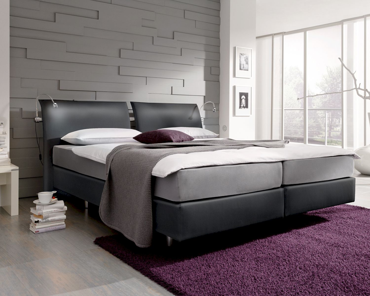 femira couture chianti boxspringbett bei. Black Bedroom Furniture Sets. Home Design Ideas