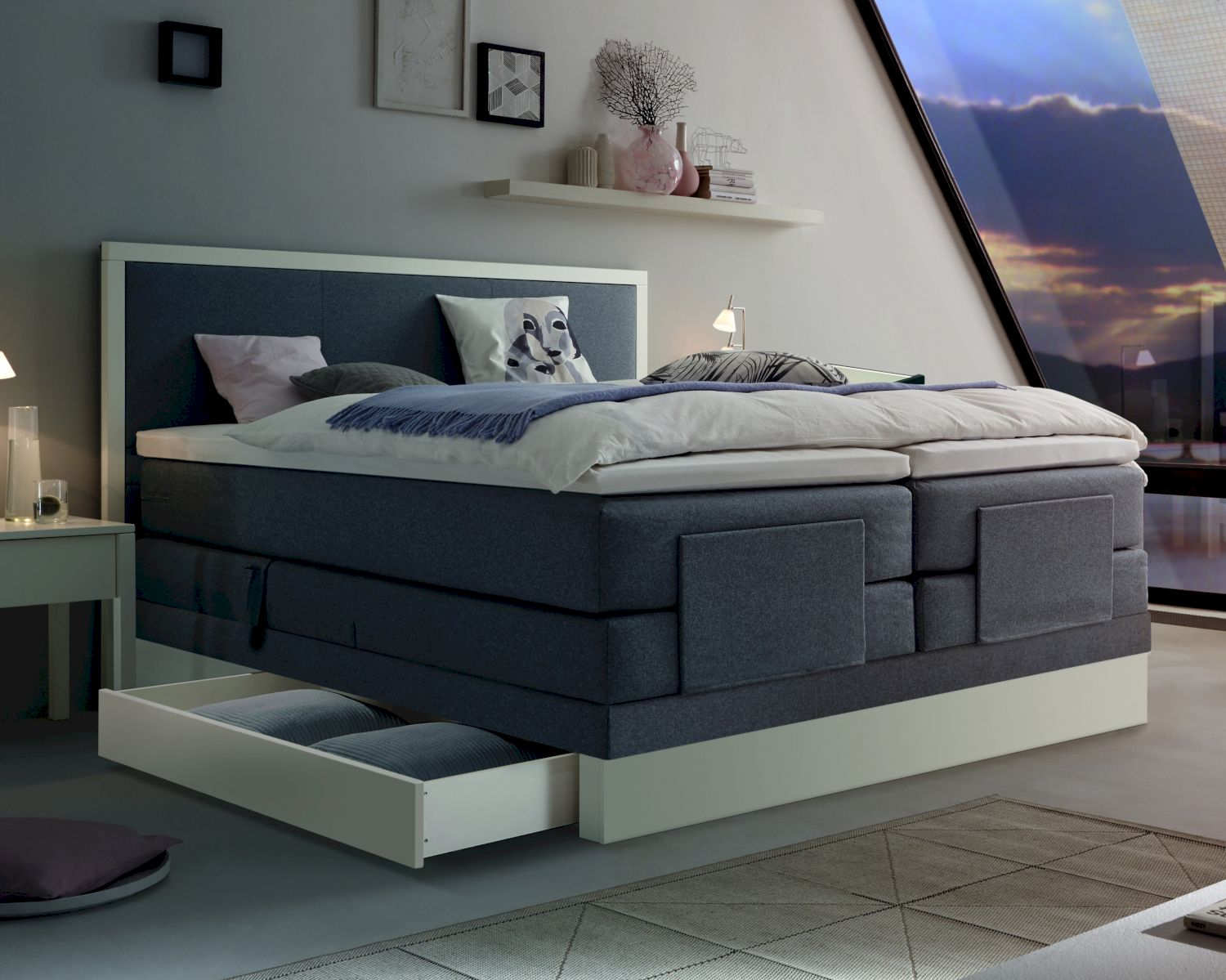 hasena boxspringbett solution bettkastensan pietro. Black Bedroom Furniture Sets. Home Design Ideas