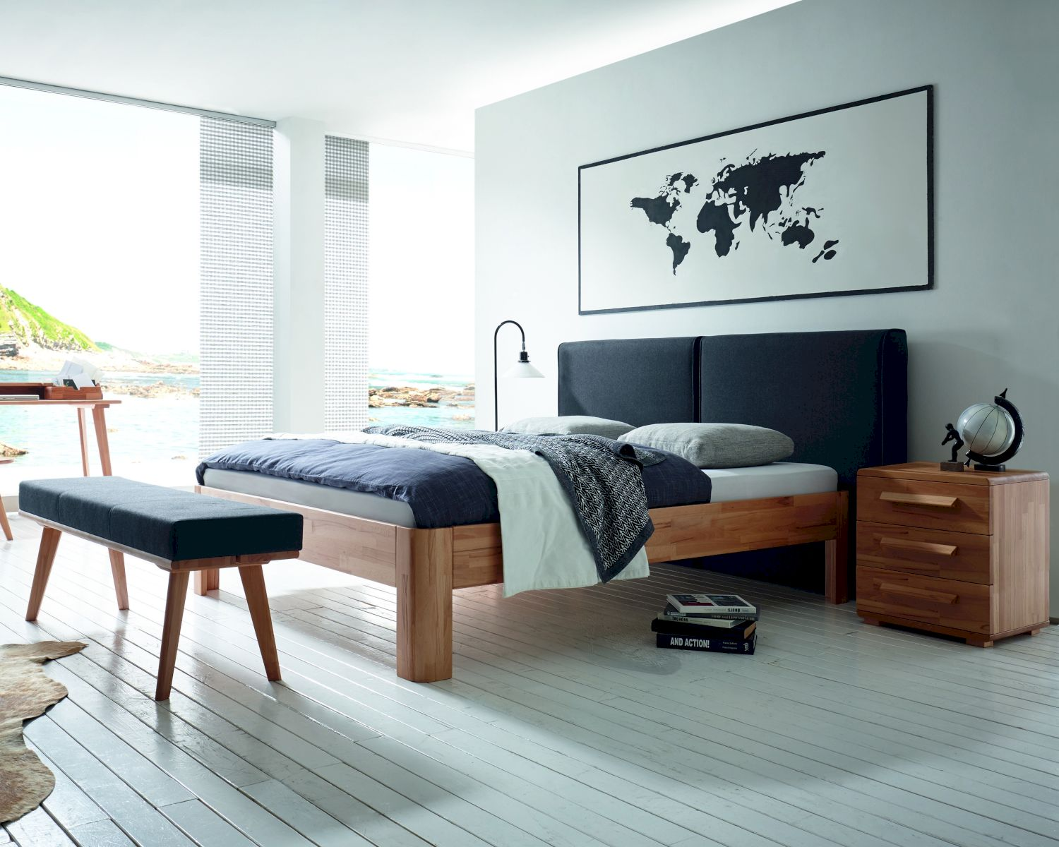 desinger bett gallery of bb italia incl treca matratzen x. Black Bedroom Furniture Sets. Home Design Ideas
