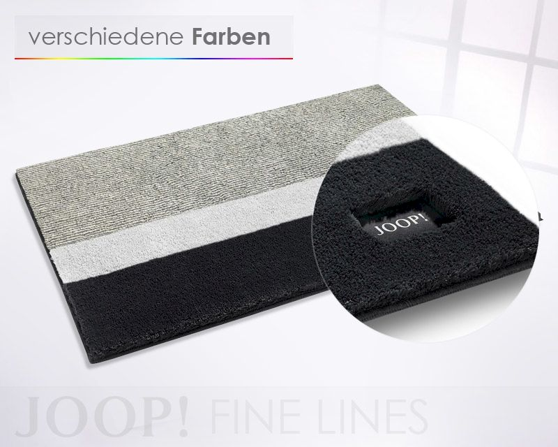 Joop 162 soft colours fine lines badteppich for Joop badteppich sale