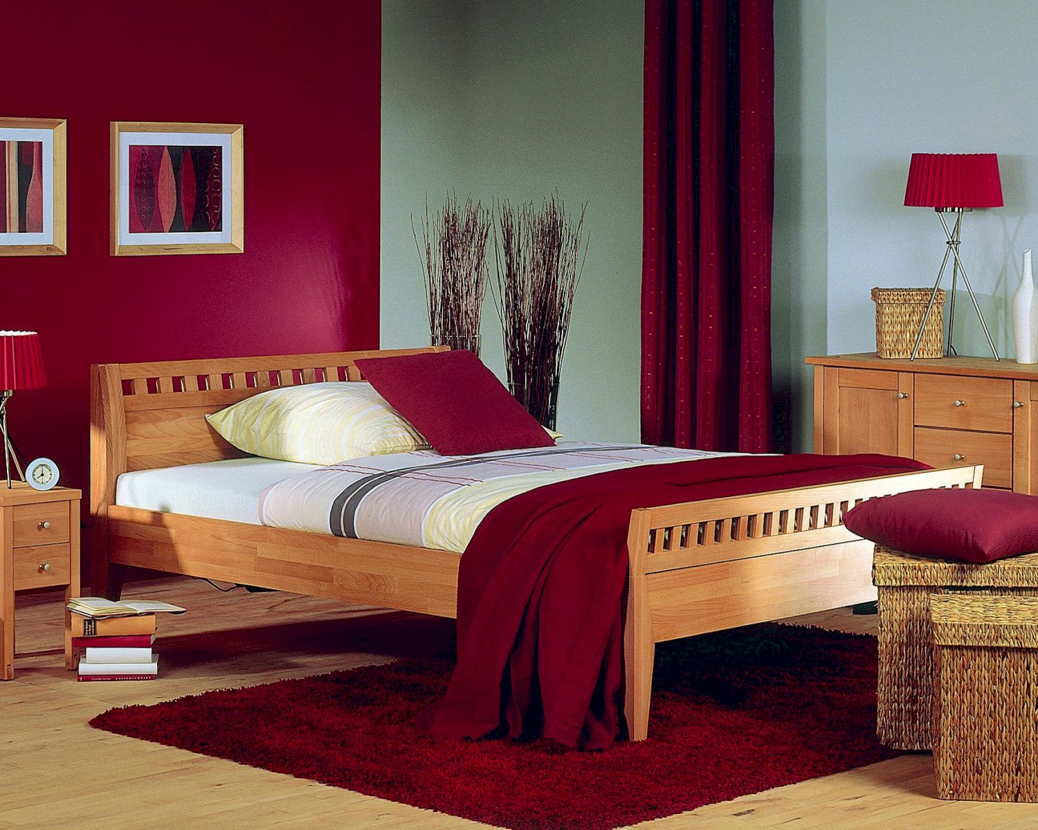 bett diana ii mit erh htem fu teil kaufen. Black Bedroom Furniture Sets. Home Design Ideas