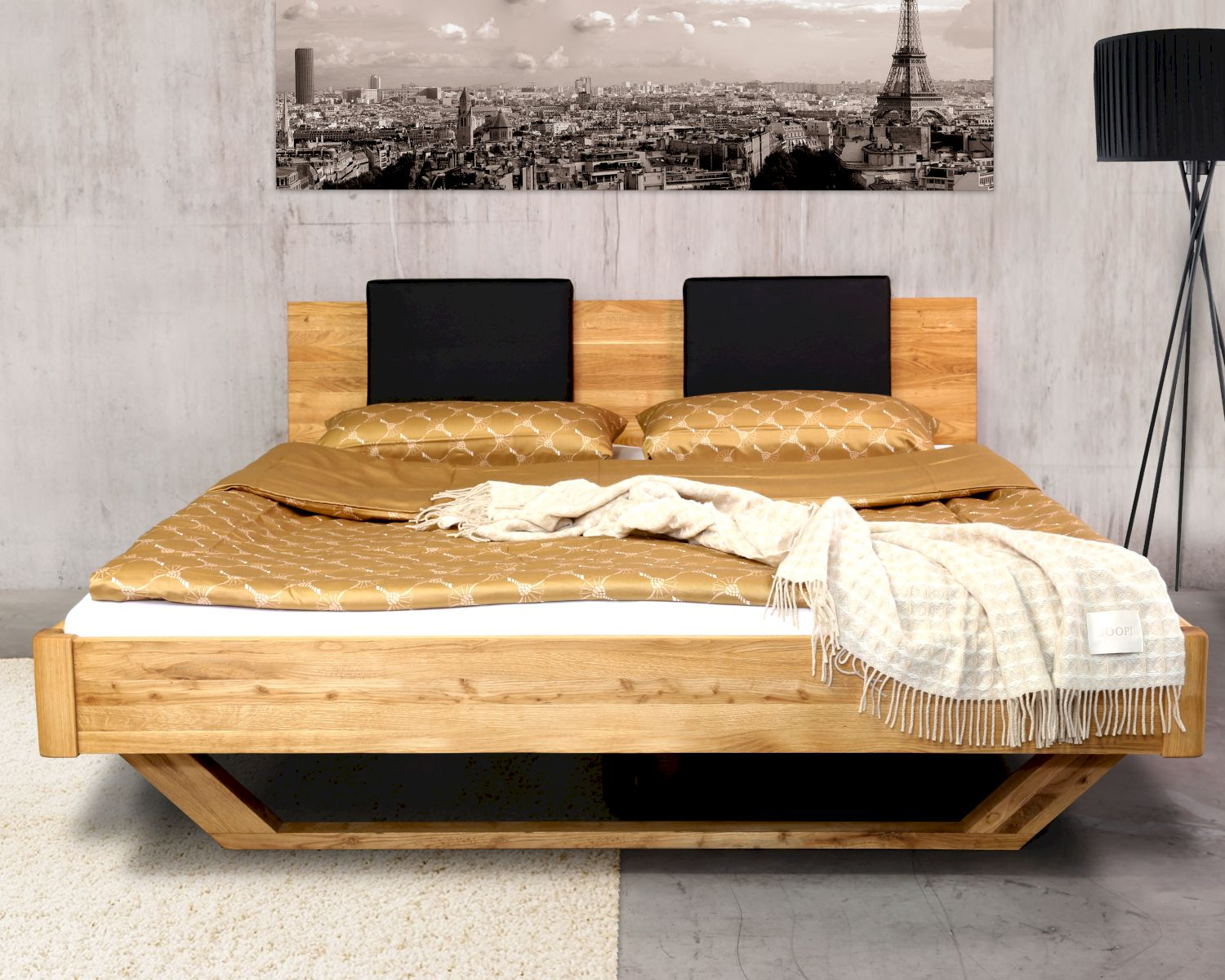 massivholz dolce vita wildeiche bett bei. Black Bedroom Furniture Sets. Home Design Ideas