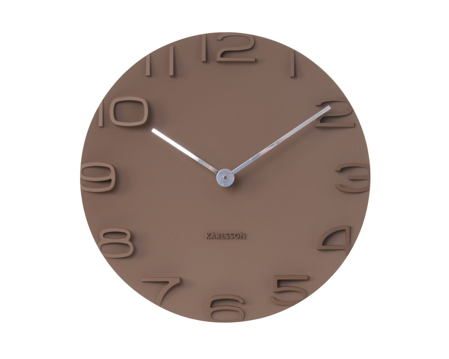 Present Time Wanduhr On the Edge Pink