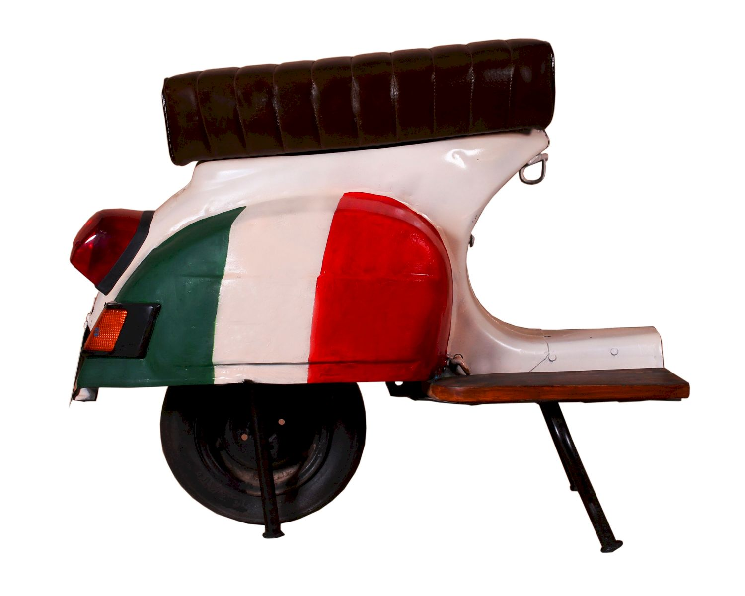 SIT This & That Roller-Barhocker italienische Flagge / 1054-39 / B 110 x H 88 x T 53 cm