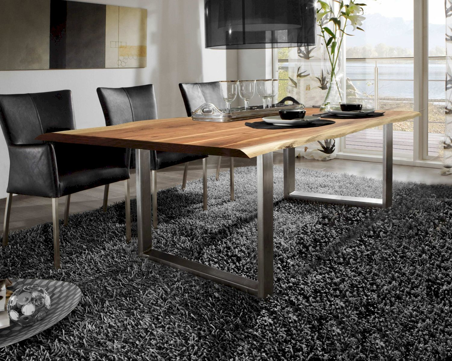 Sit tops tables baumkante esstisch bei for Design esstisch holz