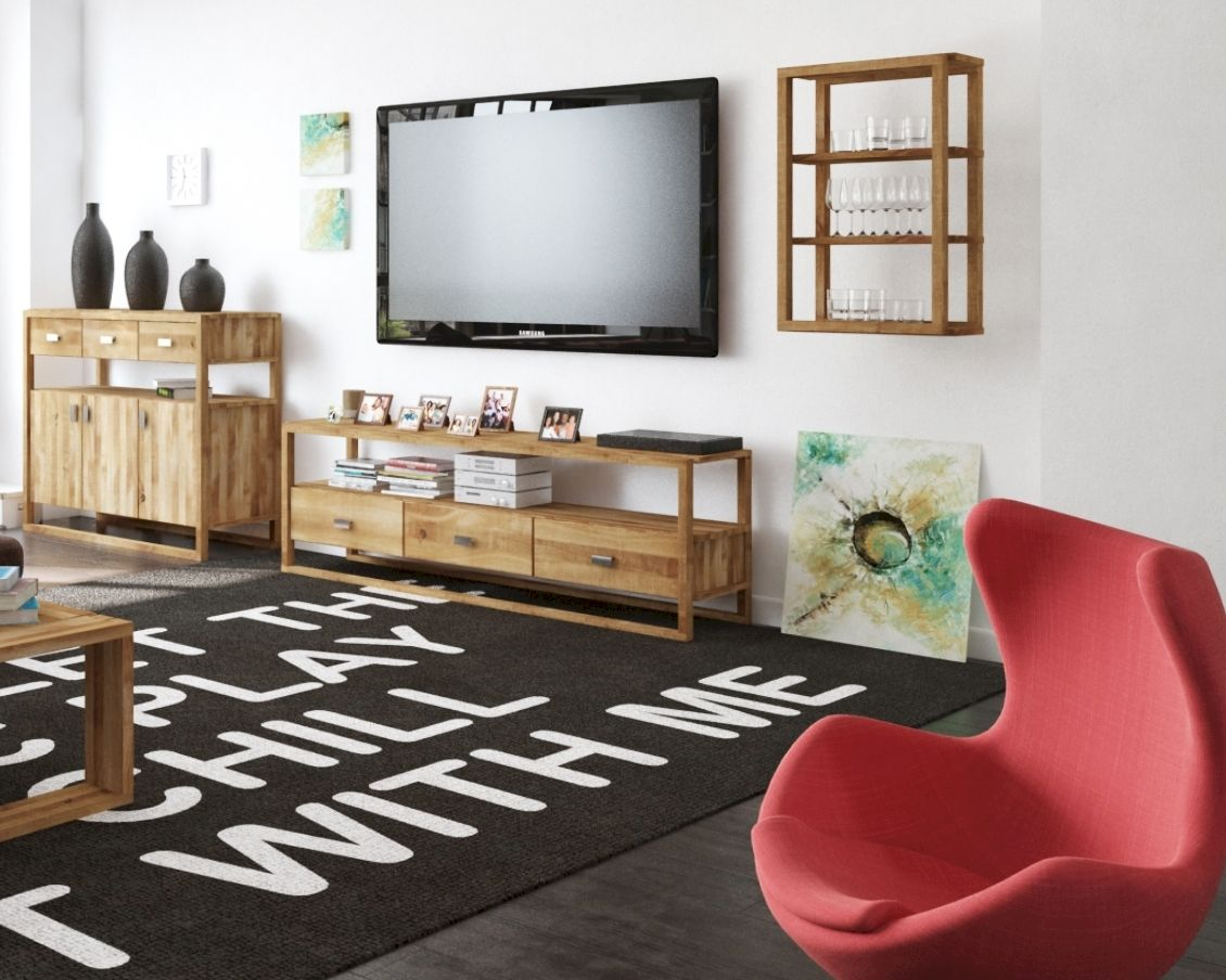 Affordable The Beds Minimal Massivholz Tvlowboard Artikelbild With Tv  Massivholz
