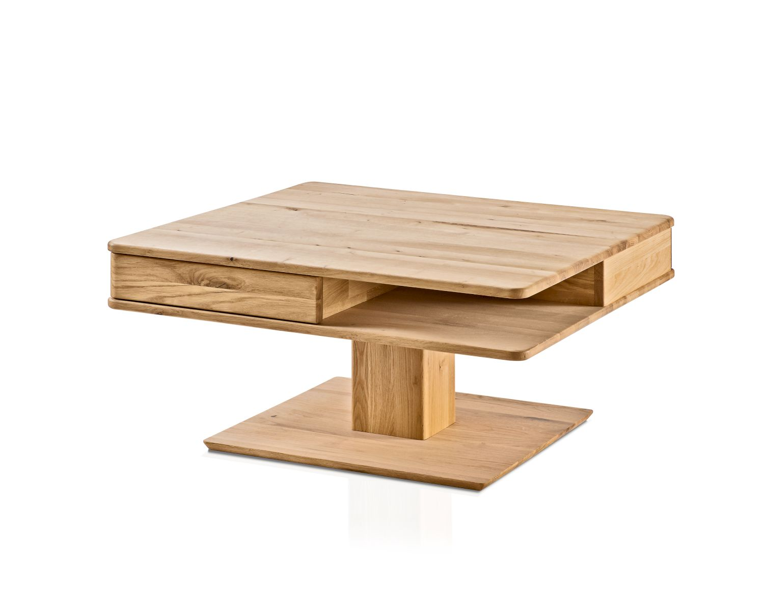 Woodlive massivholz couchtisch quadro bei for Sessel quadro