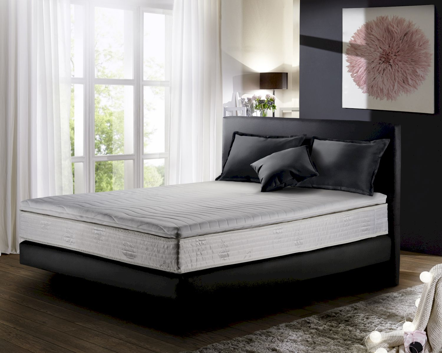 winkle boxspringbett bronx mit bettkasten. Black Bedroom Furniture Sets. Home Design Ideas