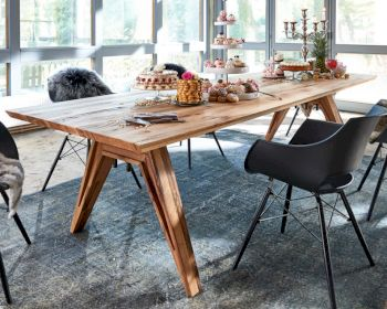 Bodahl Concept4You Massivholz Esstisch Rustic Oak Seattle Artikelbild 6