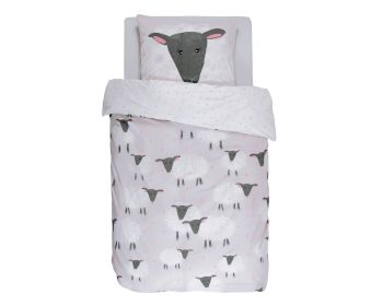 Covers & Co Renforce Bettwäsche Sheeps Grey Artikelbild 6