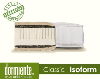 Dormiente Natural Classic Isoform Latex-Matratzen Artikelbild 6