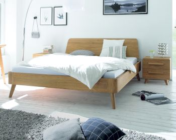 hasena oak line eiche massivholzbetten im online shop. Black Bedroom Furniture Sets. Home Design Ideas