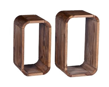 SIT Goa Sheesham Massivholz Regal-Set Artikelbild 6