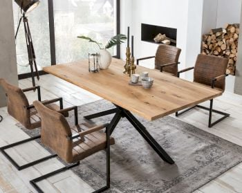 SIT Tops & Tables »Arizona« Wildeiche Massivholz Esstisch Artikelbild 6