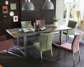 SIT Tops & Tables Esstisch Massivholz Retro Artikelbild 6