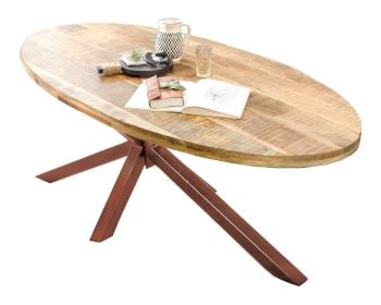 SIT Tops & Tables Tischplatte Mango Massiv Oval Artikelbild 6