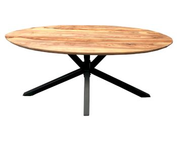 SIT Tops & Tables Tischplatte Sheesham Oval Artikelbild 6