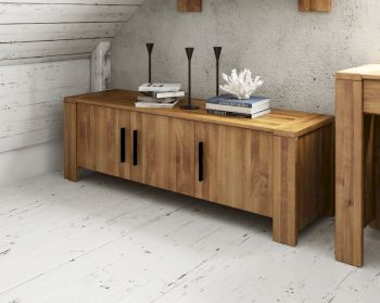 The Beds Cubic Massivholz Sideboard 3-Türig Artikelbild 6