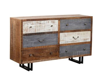 The Wood Times New Rustic Sideboard lll Artikelbild 6