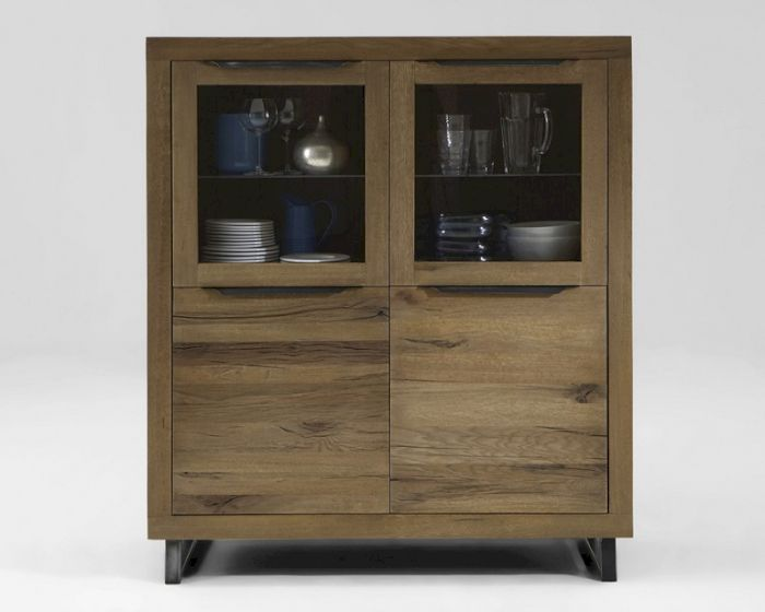 Produktbild - Bodahl Highboard Rustic Oak Manhattan