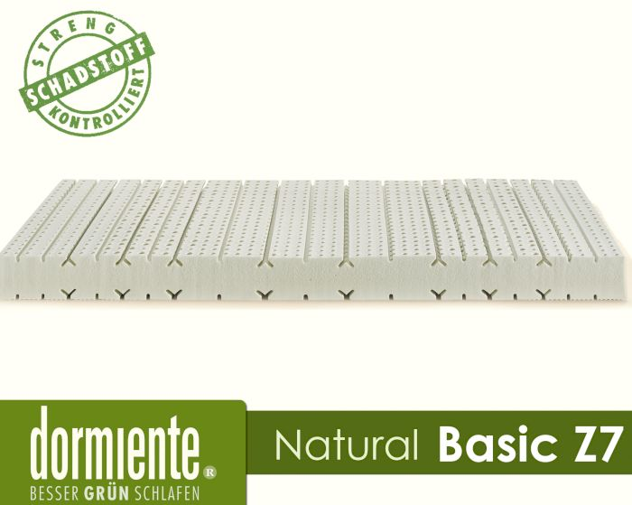 Produktbild - Dormiente Natural Basic Z7 Latex-Matratzen