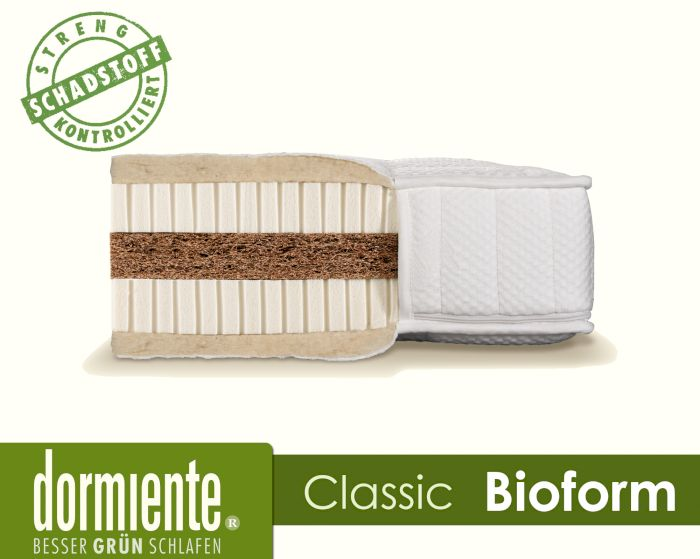 Produktbild - Dormiente Natural Classic Bioform Latex-Matratzen
