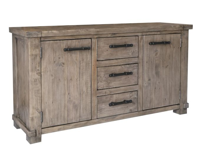 Produktbild - The Wood Times Industrial Sideboard l